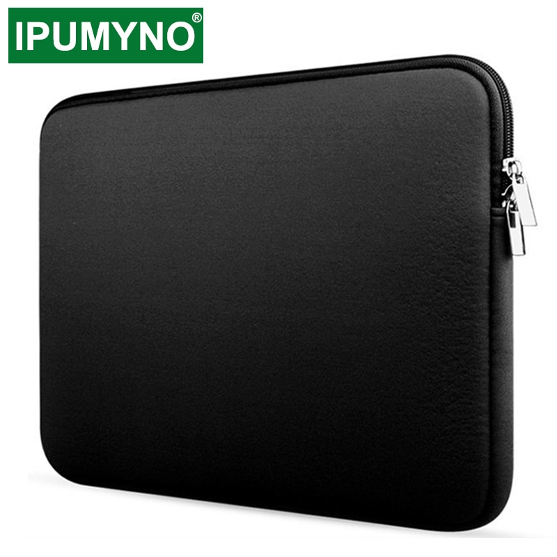 Soft Laptop Bag For Xiaomi Hp Dell Lenovo Notebook Computer For Macbook Air Pro Retina 11 12 13 14 15 15.6 Sleeve Case Cover