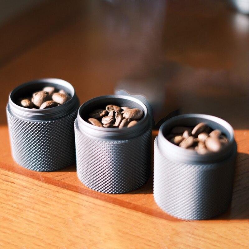 Timemore, Juego de 3 jarras de café de Metal con sellado con aluminio, 3 jarras en caja