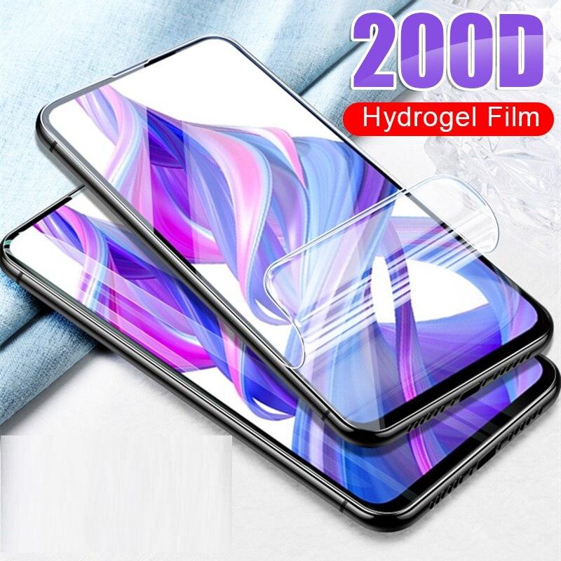 Película protectora de hidrogel para Honor 20 Pro View 10 Lite Protector de pantalla de teléfono para Huawei Honor 20 Lite 10i 20i Not Glass