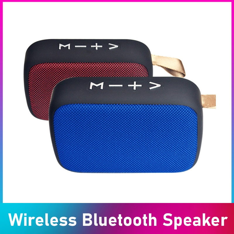Portable Wireless Bluetooth Speaker Soundbar Outdoor Support TF Card FM Radio Aux HIFI Subwoofer Portable Audio & Video
