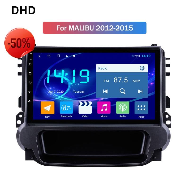 4GB Ram Android 9.0 Radio Screen For Chevrolet Malibu 2012-2015 Car Audio DSP CARPLAY Multimedia Video Player Navigation GPS