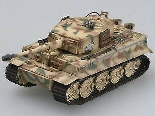 Tanque de 36217, 1/72, maqueta Trumpeter Tigre alemán I (Late), TH07797-SMT2 de plástico para coche blindado 912
