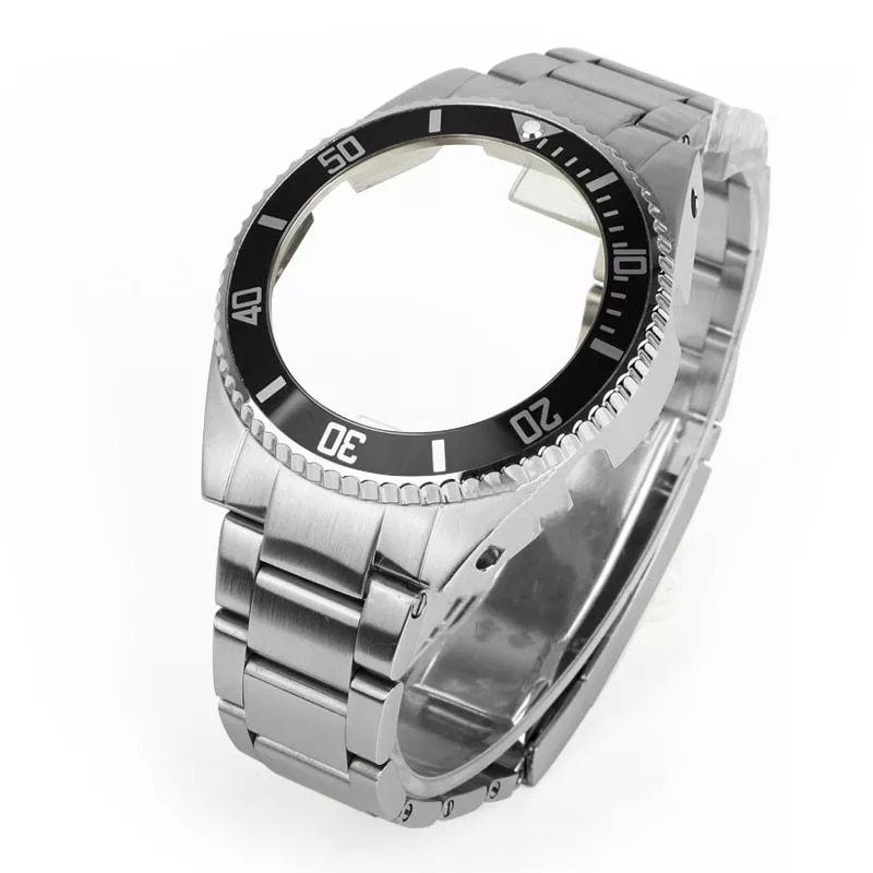 Stainless Metal strap accessories band case suitable for Casio belt GA2100 Strap and case sports waterproof  strap wholesale enlarge