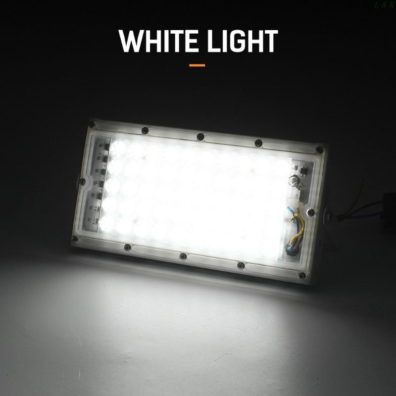Reflector para exteriores, Reflector para lámpara de jardín con arandela de pared de 50W, Reflector IP65 12V PXPC
