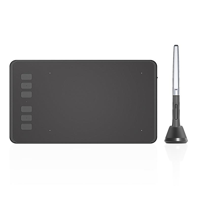 HUION-Tableta digital H640P ultraligera, 6x4 pulgadas, gráfica de dibujo, tableta para juego...