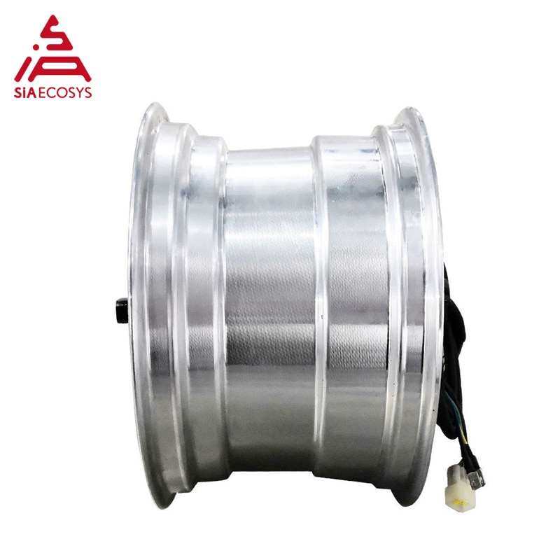 QSMOTOR 12x7.5inch 1500W 48V/60/72V 55kph Hub Motor with EM50SP controller and kits for E-Scooter enlarge