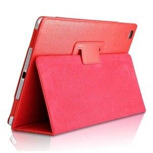 Funda inteligente de cuero PU para tableta, Protector de piel para iPad...
