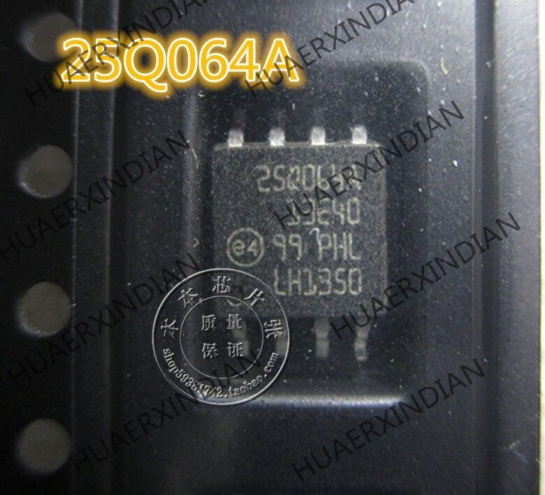 Nova n25q064a13ese40f 25q064a sop 3 de alta qualidade
