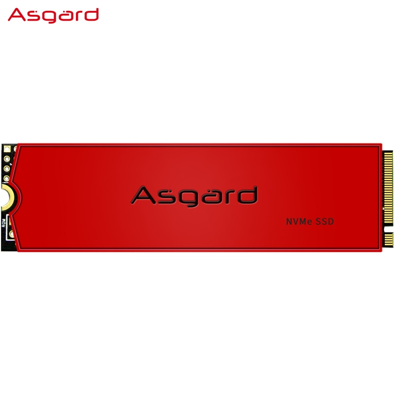 Asgard AN3 RED SERIES M.2 ssd M2 512gb PCIe NVME 512GB 1TB Solid State Drive 2280 Internal Hard Disk hdd for Laptop with cache