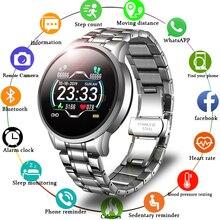 LIGE 2020 New Smart Watch Men Heart Rate Blood Pressure Information Reminder Sport Waterproof Smart