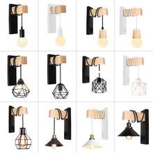 Lámpara colgante de Metal para pared, accesorio artístico de hierro para decoración de cabecera, dormitorio, sala de estar, restaurante, Bar, candelabro de iluminación