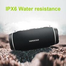 Hopestar H45 partie Portable Bluetooth haut-parleur 20w haute puissance extérieure étanche Subwoof er Surround système de son avec poignée som