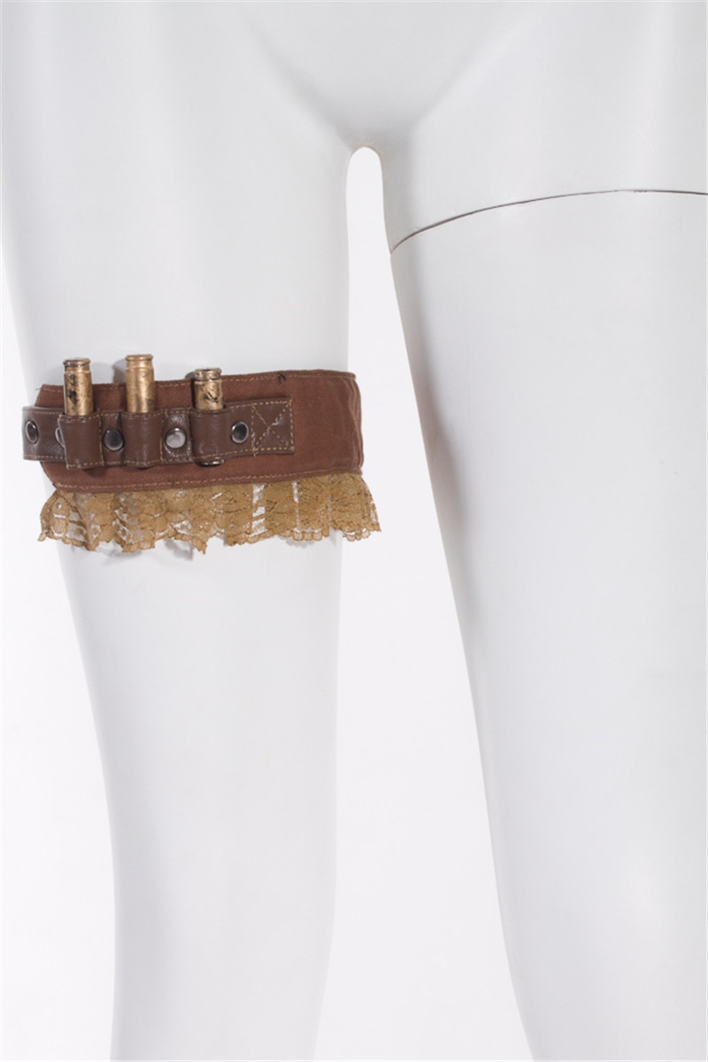 Steampunk رصاصة الرباط حزام الساق اكسسوارات RQ-BL SP031