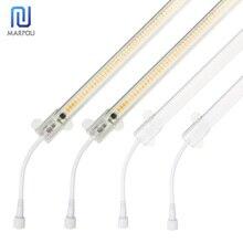 LED Under Cabinet Kitchen Light Waterproof LED Tube 30cm 50cm Cold White Warm White 220V SMD2385 72leds Rigid Strip Kitchen Deco
