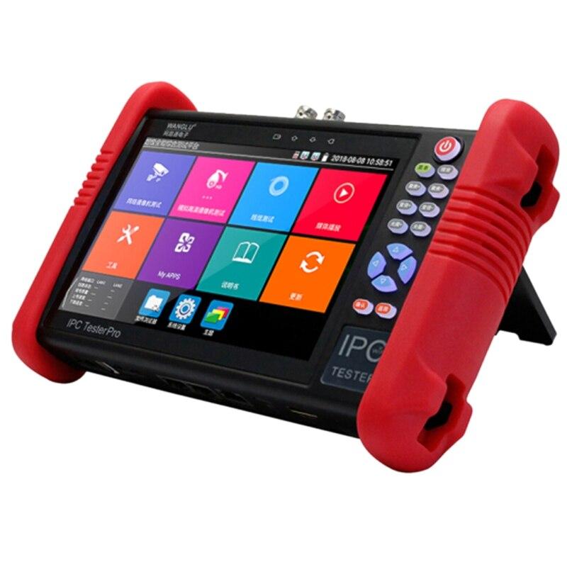 IPC-9900Plus 7 pulgadas 1920x1200 cámara IP de 4K 1080P IPC CCTV Monitor de Audio y Video POE prueba pantalla HDMl descubrimiento 8GB