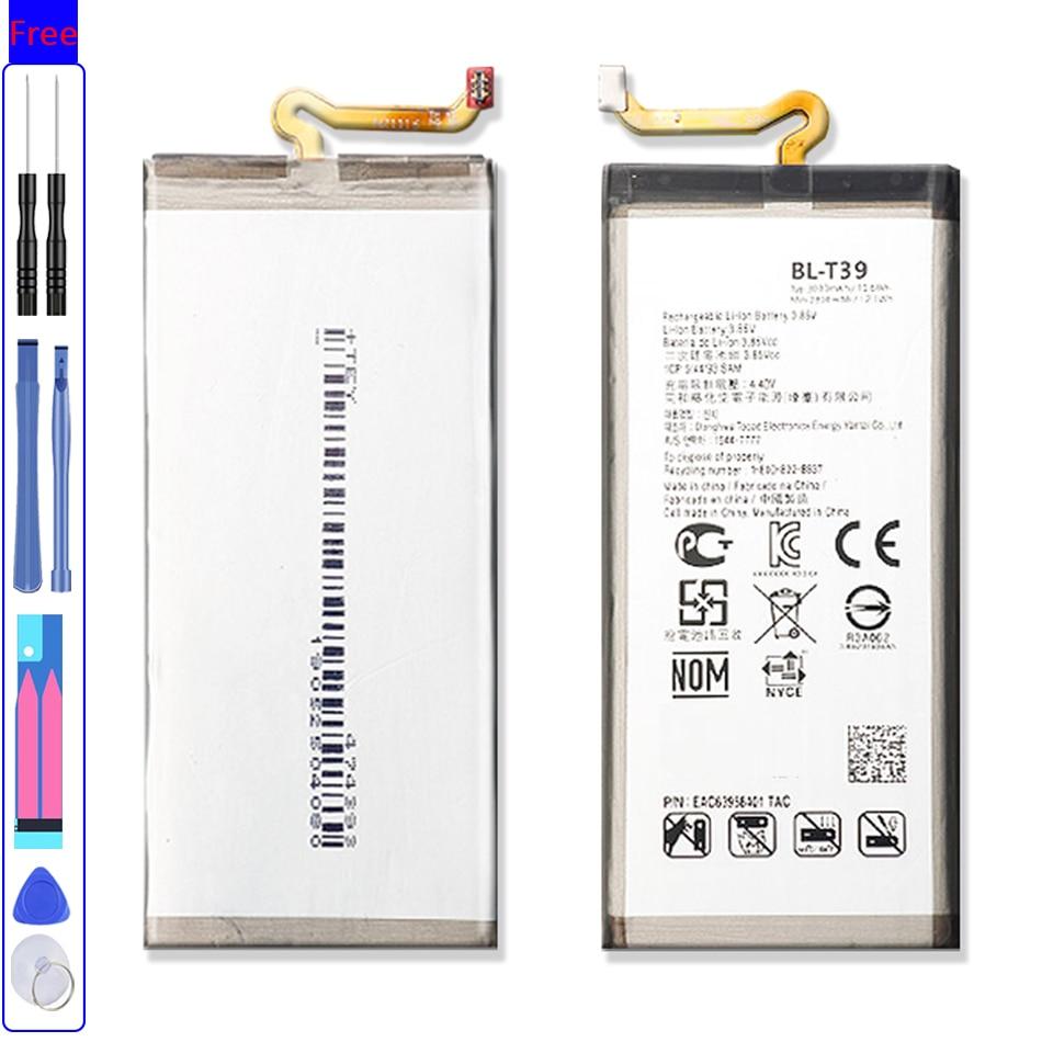 BL-T39  Battery For LG G7 G7+ G7ThinQ LM G710 ThinQ G710 Q7+ LMQ610 BL T39 Mobile Phone Bateria + Fr