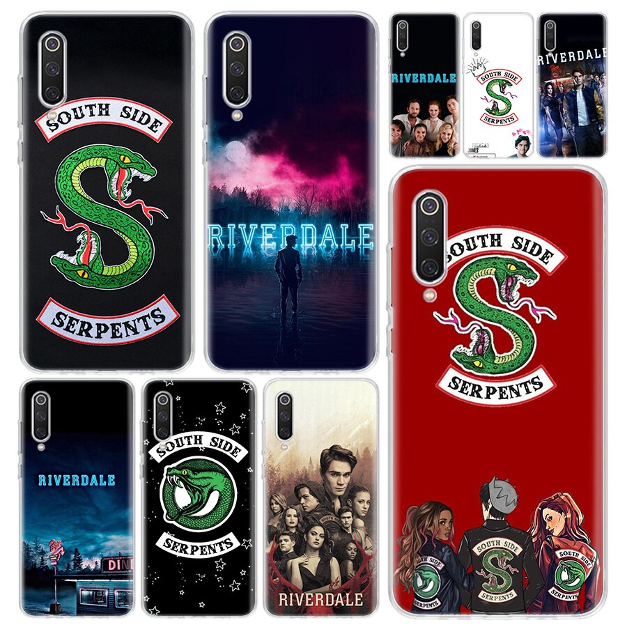 Funda de teléfono con impresión de TV Riverdale para Xiaomi Redmi Note 9S 8 8T 9 7 7A 6 6A 5 5A 4X S2 K20 K30 MI 9 8 Lite CC9 F1 Pro, Coque
