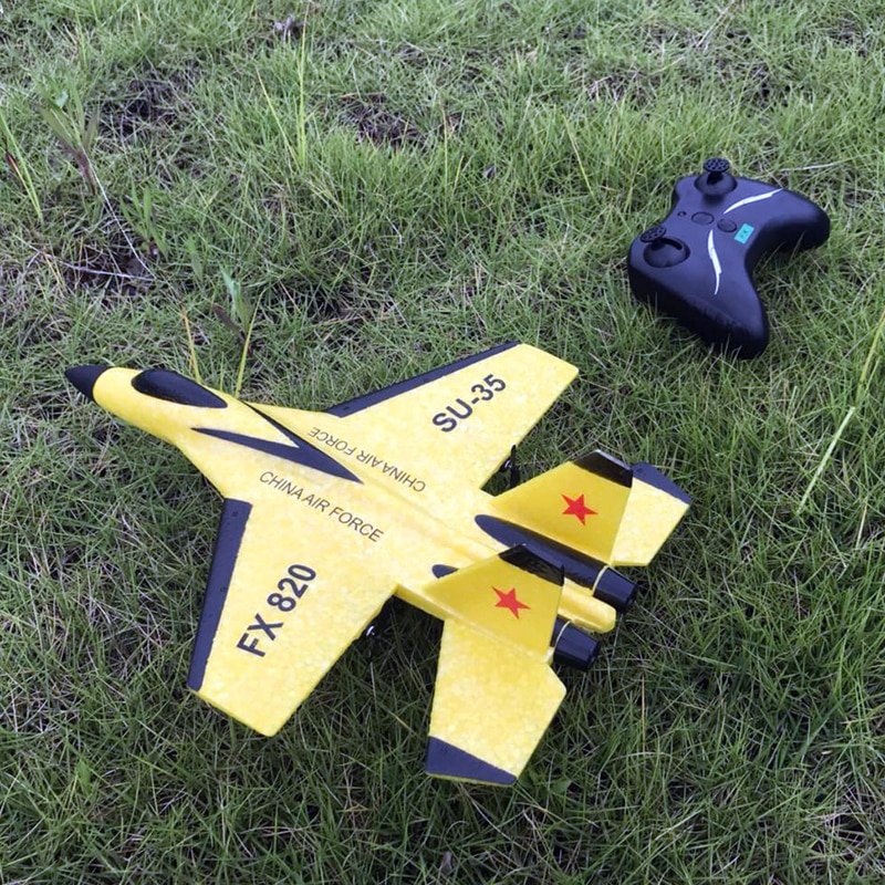 2.4G Glider RC Drone SU35 Fixed Wing Airplane Hand Throwing Foam Dron Electric Remote Control Outdoo
