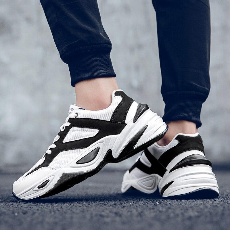 أحذية رياضية عصرية أحذية رياضية 2020 الرجال السود حذاء كاجوال الترفيه حذاء رياضة حذاء رجالي الرياضة الذكور للرياضة للرجال