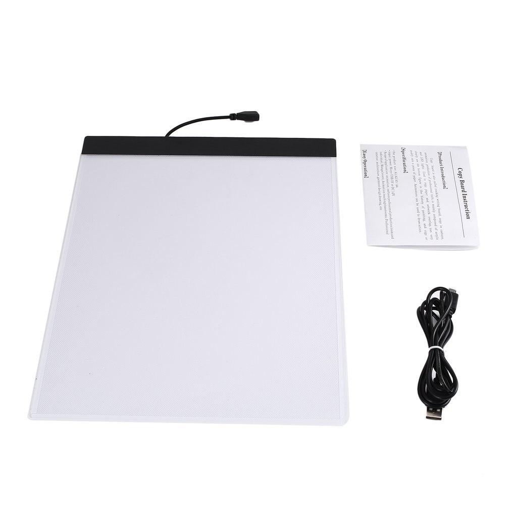 K02 A4 бумага Размер копировальная плата ультра тонкий светодиодный светящийся