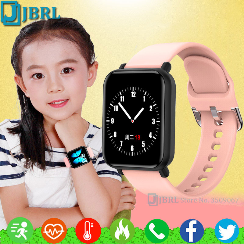 Reloj inteligente para niños, reloj inteligente para niños y niñas, reloj inteligente electrónico para Android IOS, rastreador de Fitness, reloj inteligente para estudiantes