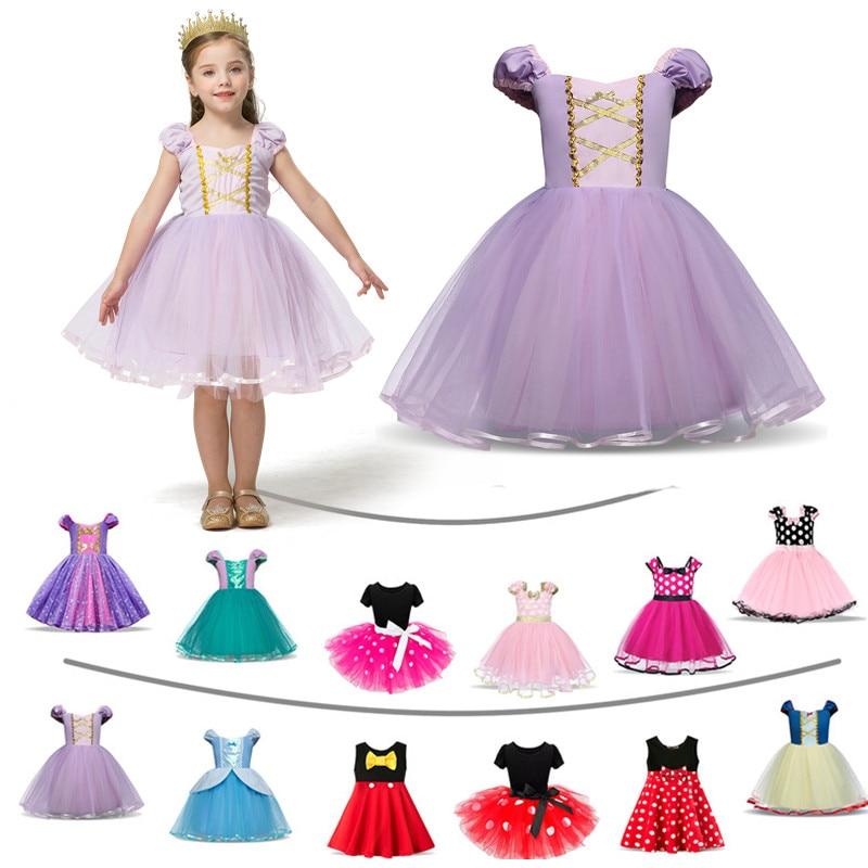 Fantaisie bébé fille déguisement dhalloween pour enfants petit chaperon rouge neige blanc filles princesse fête robes de noël Vestidos