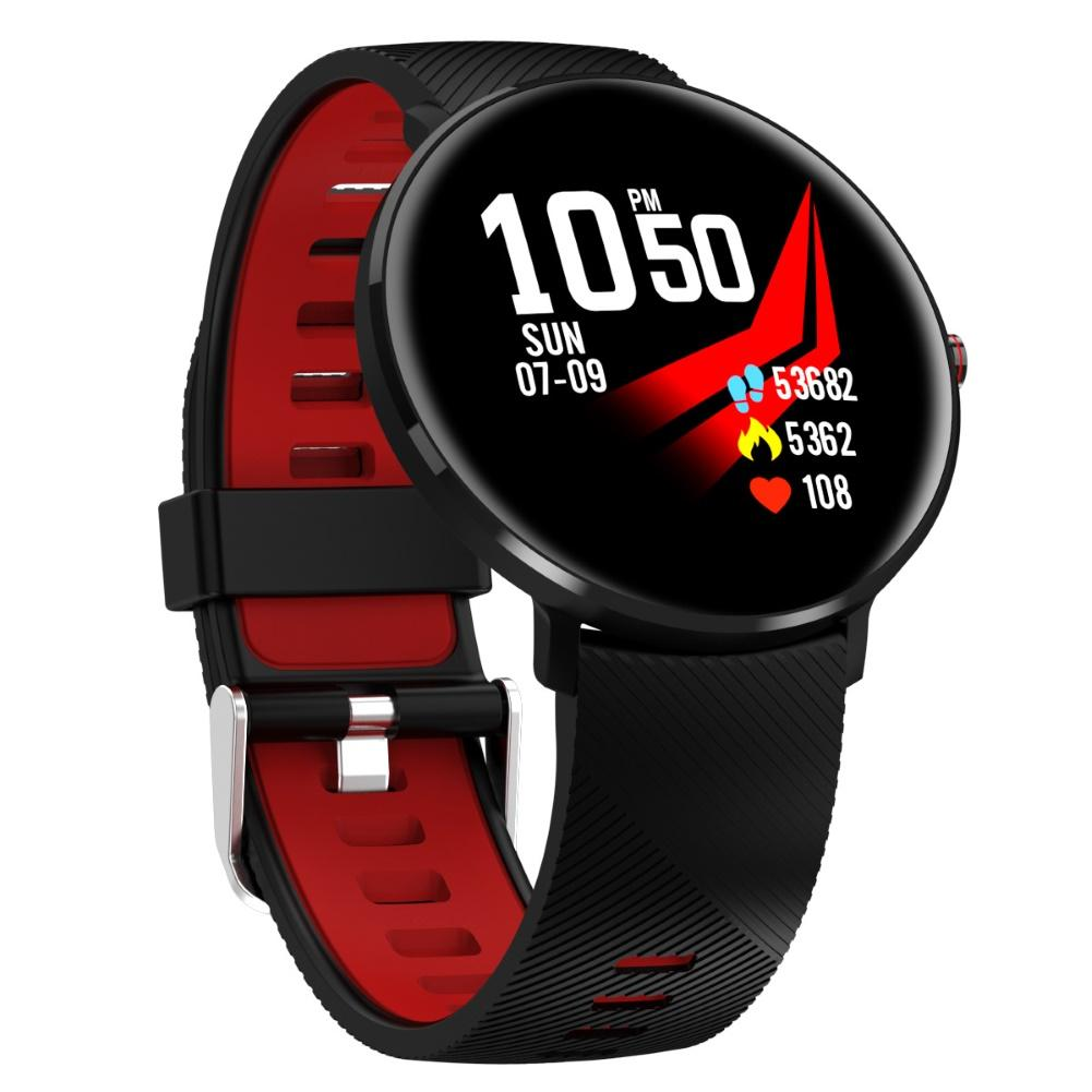 L10 IP68 Waterproof EKG PPG Heart Rate Monitor Sport Smart Watch for iOS Android