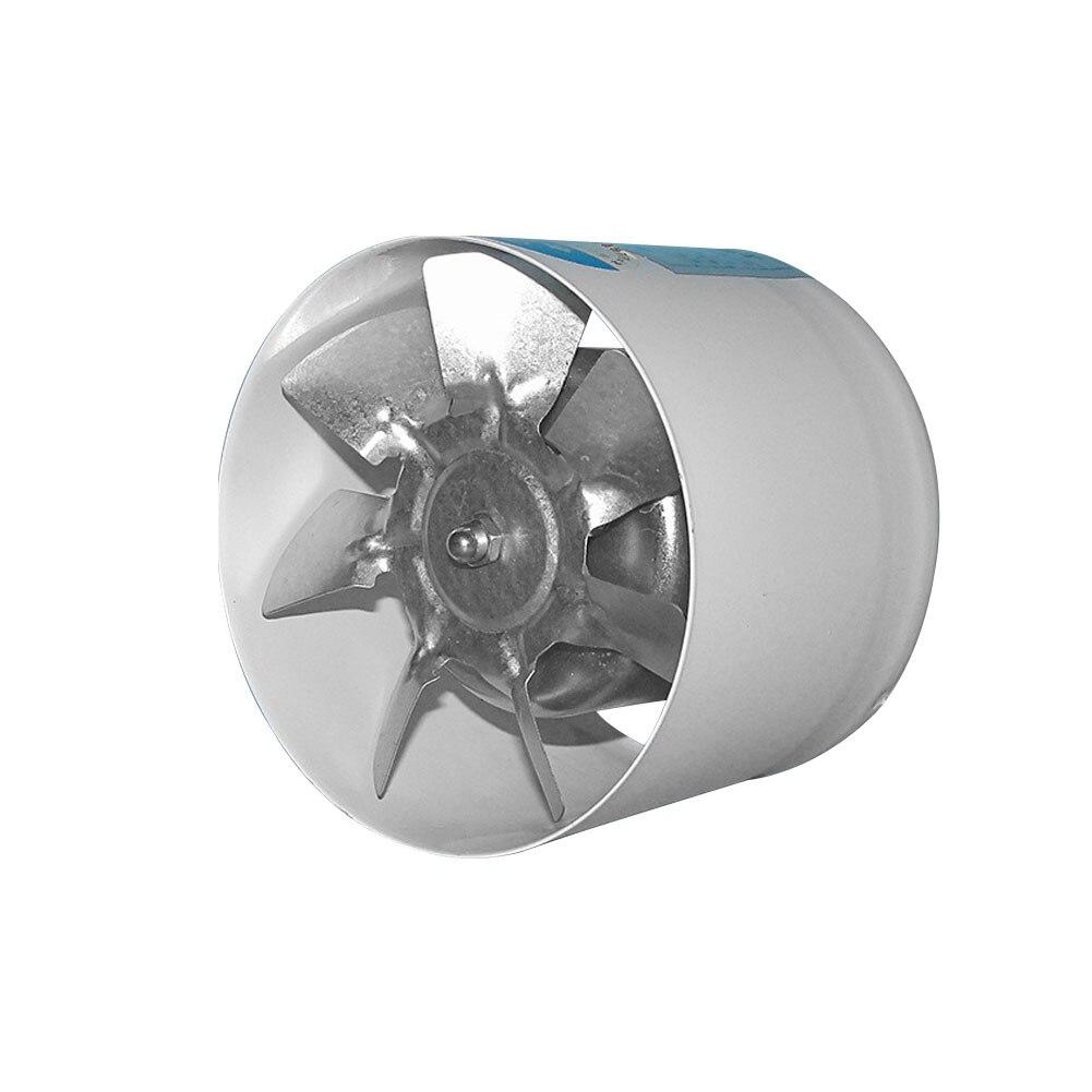 Pared de enfriamiento de 4 pulgadas, soplador de ventilación pulverizado, baño, cocina tubo, Instalación fácil, silencioso, conducto de ventilación redondo, extractor, hogar