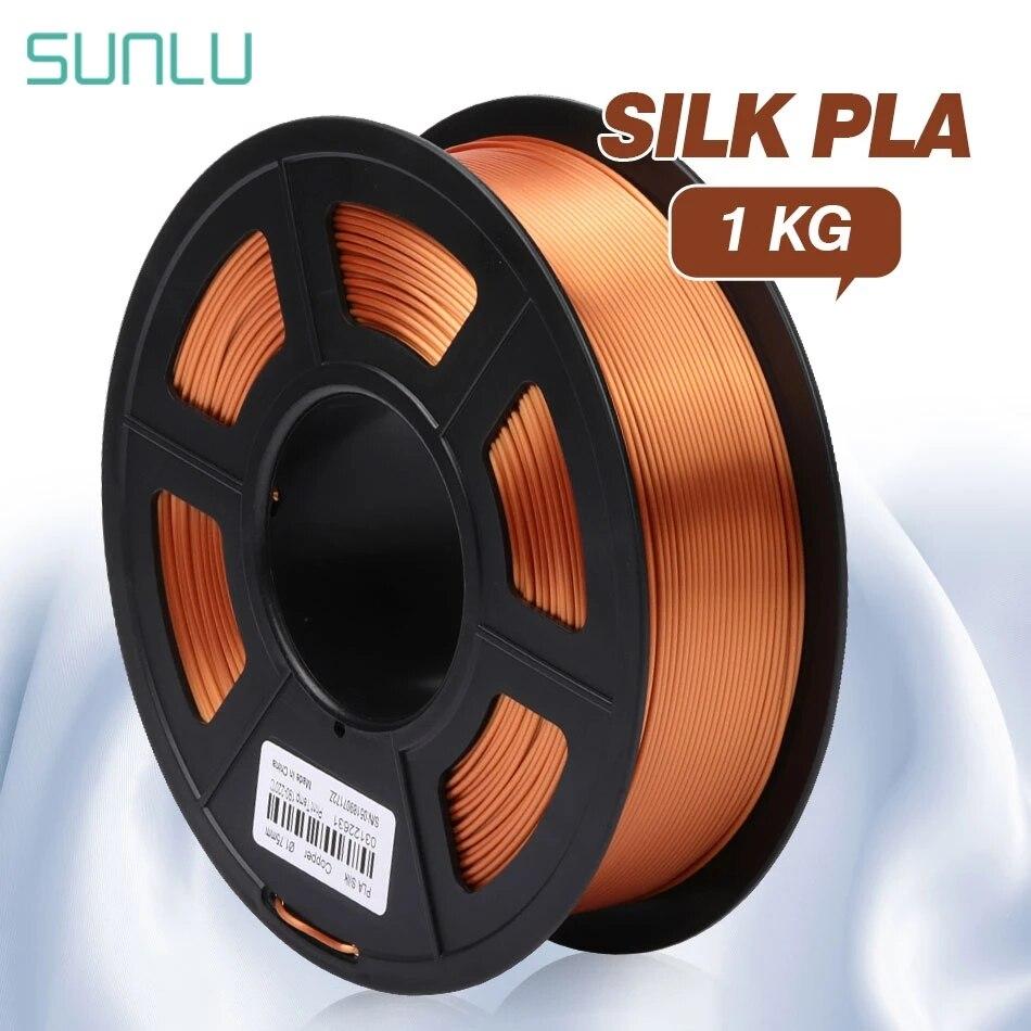 SUNLU الحرير PLA خيوط 1.75 مللي متر 1 كجم ثلاثية الأبعاد طابعة خيوط نسيج الحرير ثلاثية الأبعاد مواد الطباعة