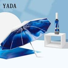 YADA-parapluie pliant et automatique   INS 118CM, parapluie UV coupe-vent dextérieur, pour femmes et hommes, YD200015