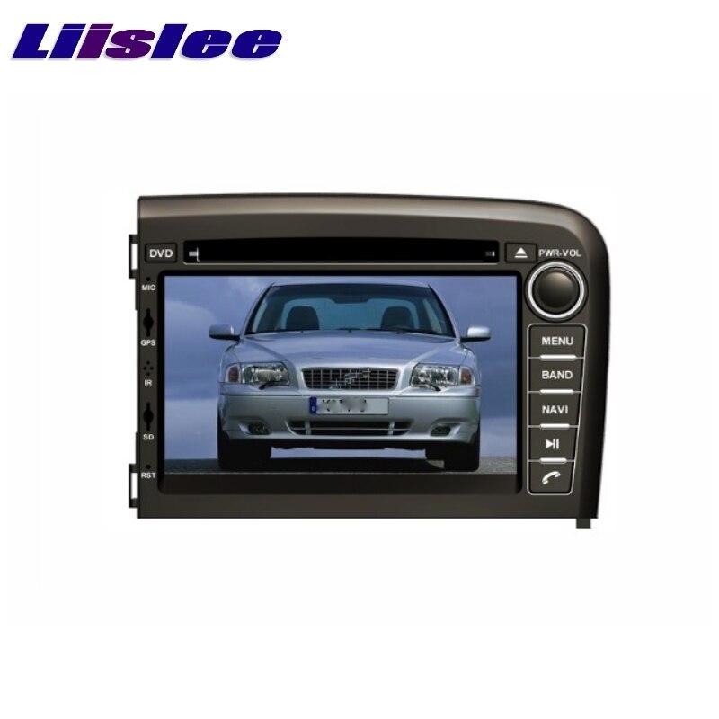 Для VOLVO S80 1998 ~ 2006 LiisLee Автомобильный мультимедийный ТВ DVD GPS аудио Hi-Fi Радио Стерео оригинальный стиль навигация NAVI