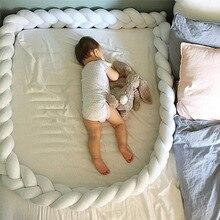 Oreiller en forme de boule pour bébé   Pare-choc pour bébé, protecteur de lit bébé, pare-choc, tresse, pour chambre