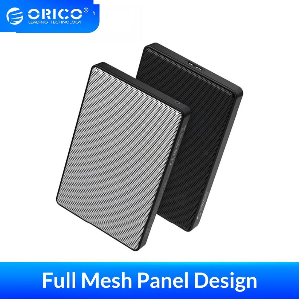 ORICO 2.5 inch HDD Case SATA to USB 3.0 HDD SSD Case for Samsung Seagate SSD 2TB 4TB Hard Disk Drive Box External HDD Enclosure