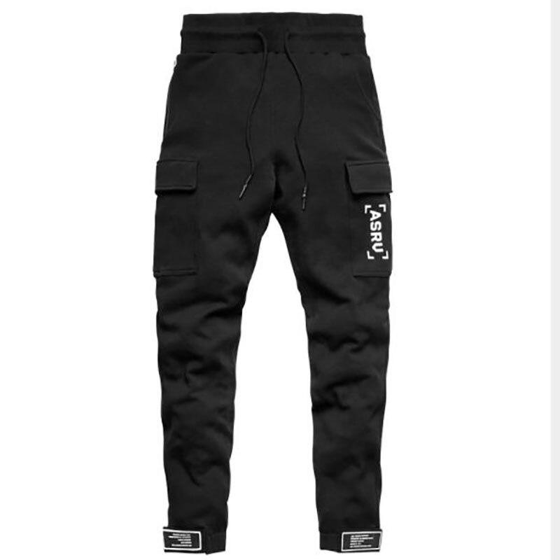 Весна-Осень-зима 2021, мужские джоггеры с боковым карманом, повседневные мужские спортивные брюки, джоггеры, брюки, спортивная одежда, брюки д...