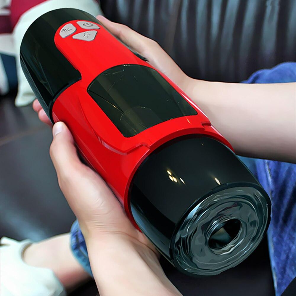 ذكر الاستمناء الجنس روبوت مع القضيب التلقائي تلسكوبي دوران المهبل دمية بفرج حقيقي 18 + الكبار الجنس لعب للرجال الاستمناء