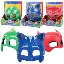 Pj маска кукольная модель маски три разных цвета маски Catboy Owlette Гекко фигурки аниме уличные смешные детские популярные игрушки