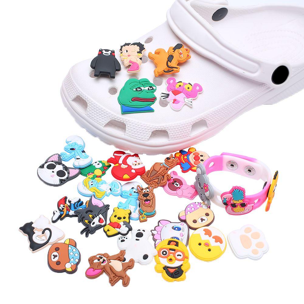 Новинка, одиночная распродажа, 1 шт., подвеска для обуви из ПВХ, аксессуары для обуви, украшение для обуви для Croc JIBZ/браслеты, для детской вече...