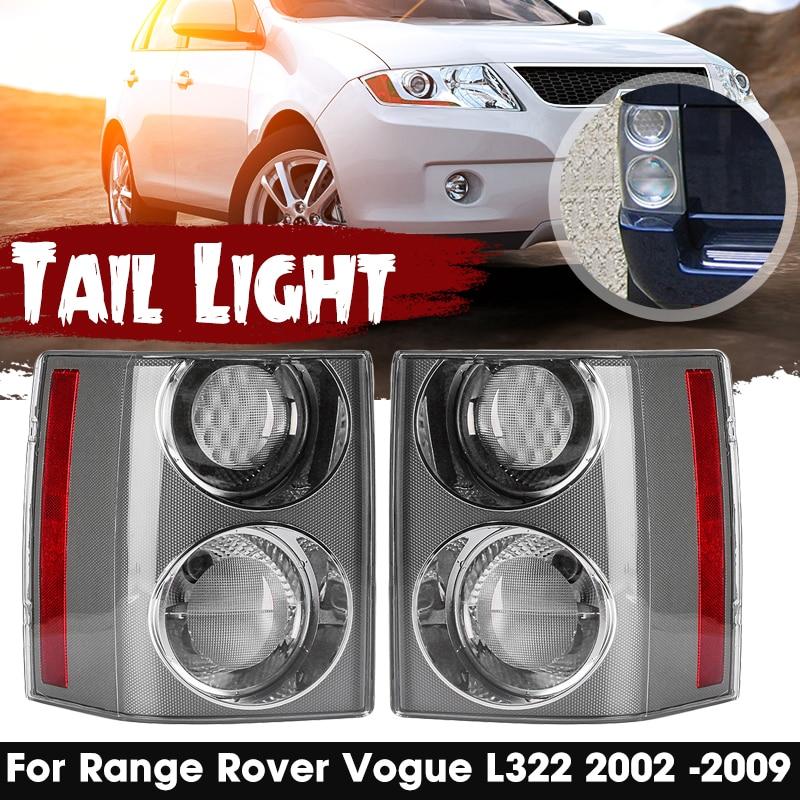 2 uds luz trasera de coche Asamblea lámpara de freno señal luz trasera para Range Rover Vogue L322 2002 03 2004, 2005, 2006, 2007, 2008, 2009
