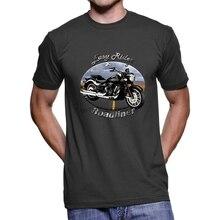Roadliner Easy Rider Men Dark T Shirt