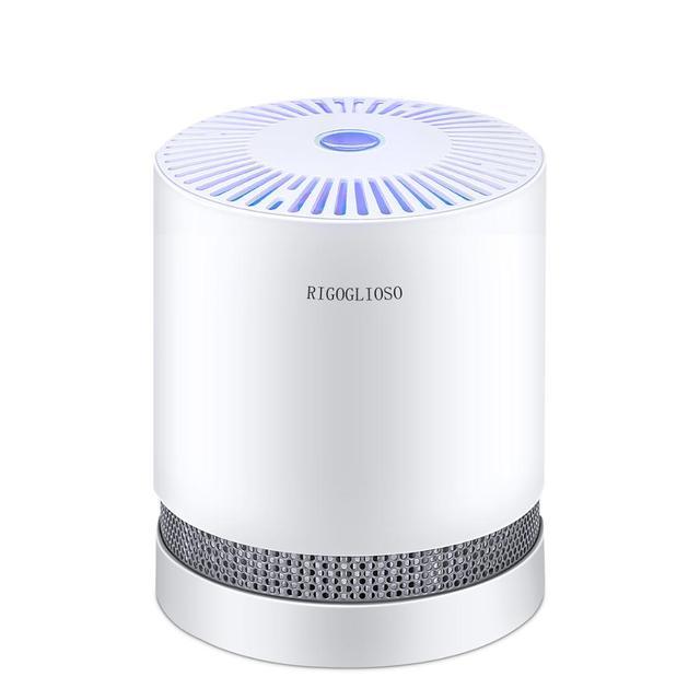 Очиститель воздуха RIGOGLIOSO для дома, Фильтры HEPA, компактные настольные очистители, фильтрация с ночным освещением, очиститель воздуха GL2109|Бытовая техника|| | АлиЭкспресс