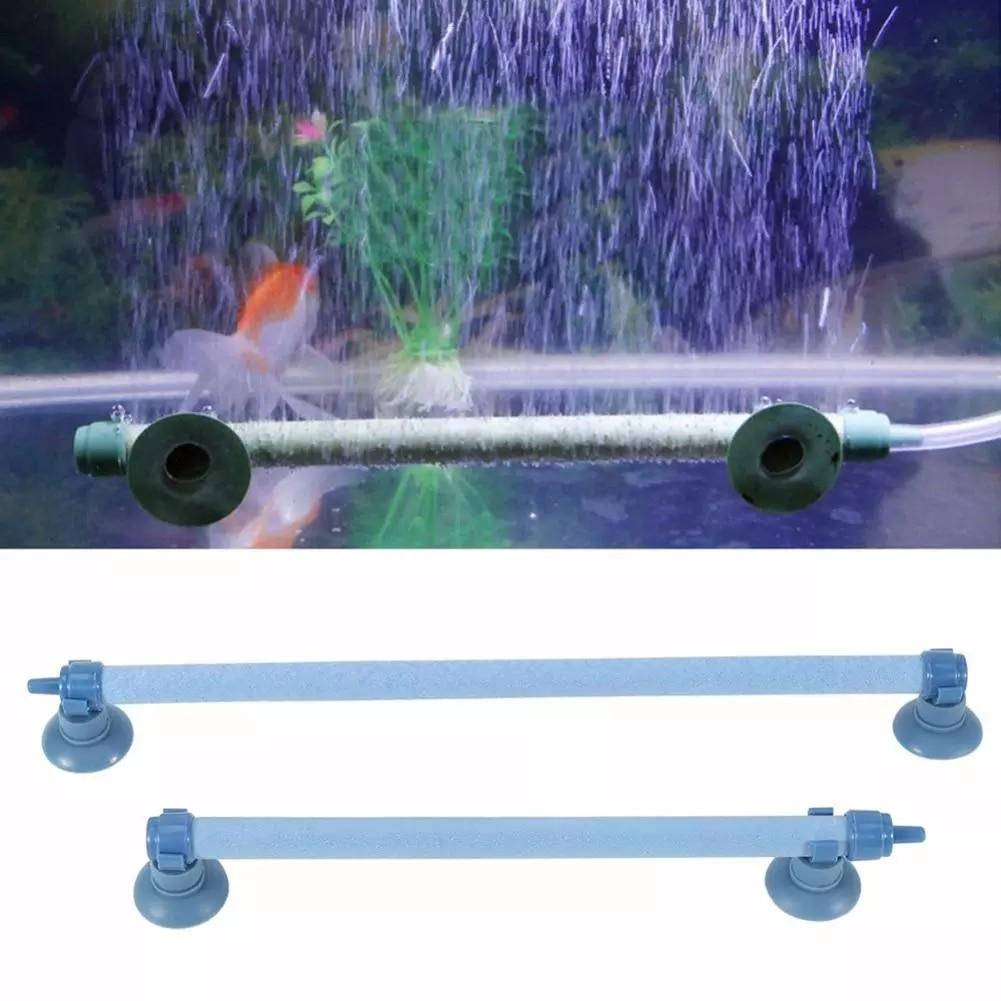 5 Sizes Aquarium Oxygen Pump Creative Fresh Air Stone Aquarium Aeration Gadget Bubble Bar Airing Bubble Strip Air Pump Fish Tank