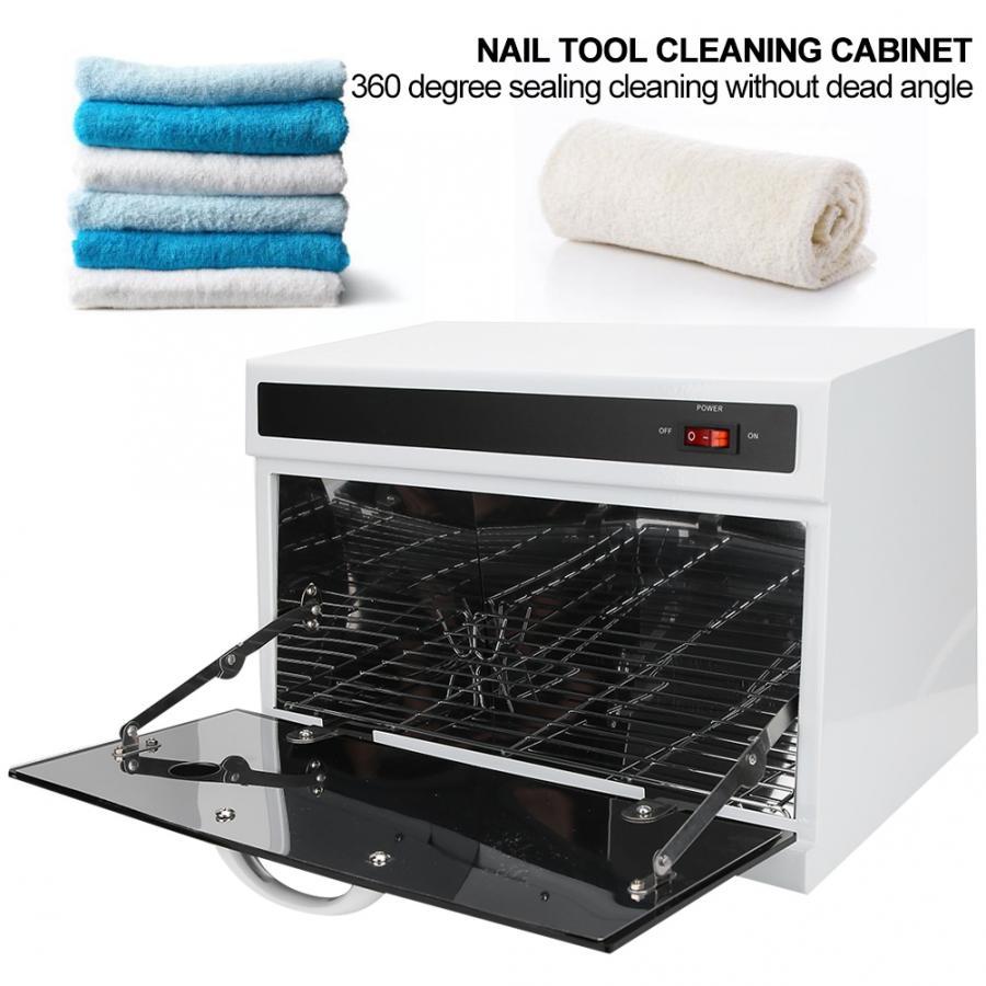220 v 1.5l uv lâmpada gabinete manicure ferramentas de corte cabelo ultravioleta armário de limpeza para salão de beleza eletrodomésticos