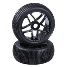 2 pièces RC 1/8 Buggy pneu et roues Hex 17mm OD 115mm largeur 42mm Inserts en mousse pour Ofna Kyosho HSP Redcat HPI Losi pneu