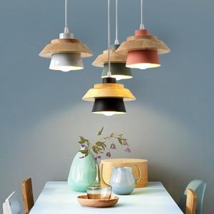 Nordic post-modern minimalist bar study pendant lamp logs creative personality romantic iron chandeliers YHJ122507