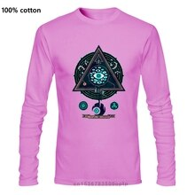 Eine yona Design All Seeing Eye Männer T-shirts Grafik T-shirt Geometrische Tops Mandala T Octopus Baumwolle Kleidung Vater Tag Geschenk