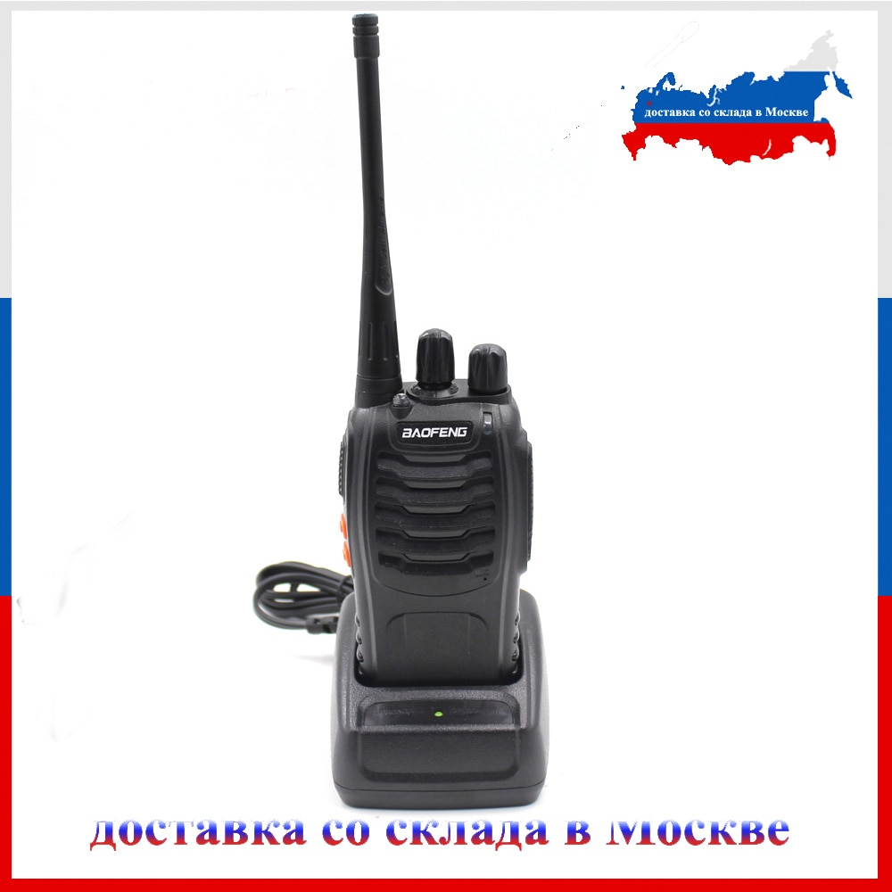 Baofeng BF-888S UHF400-470mhz walkie talkie transceptor intercom rádio em dois sentidos handheld rádio cb baofeng venda quente 5 w potência