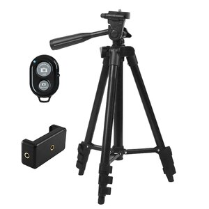 3120 Tripod, Retractable and Height-Adjustable Portable Sports Camera E-Clip Phone SLR Live Bluetooth Self-Timer Stand