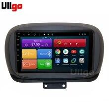 9 cal 4GB pamięci RAM + 64GB ROM z systemem Android samochodowy odtwarzacz DVD GPS dla Fiat 500 Radio samochodowe GPS samochodowy panel główny z Radio BT RDS Wifi Mirrorlink 4G LTE