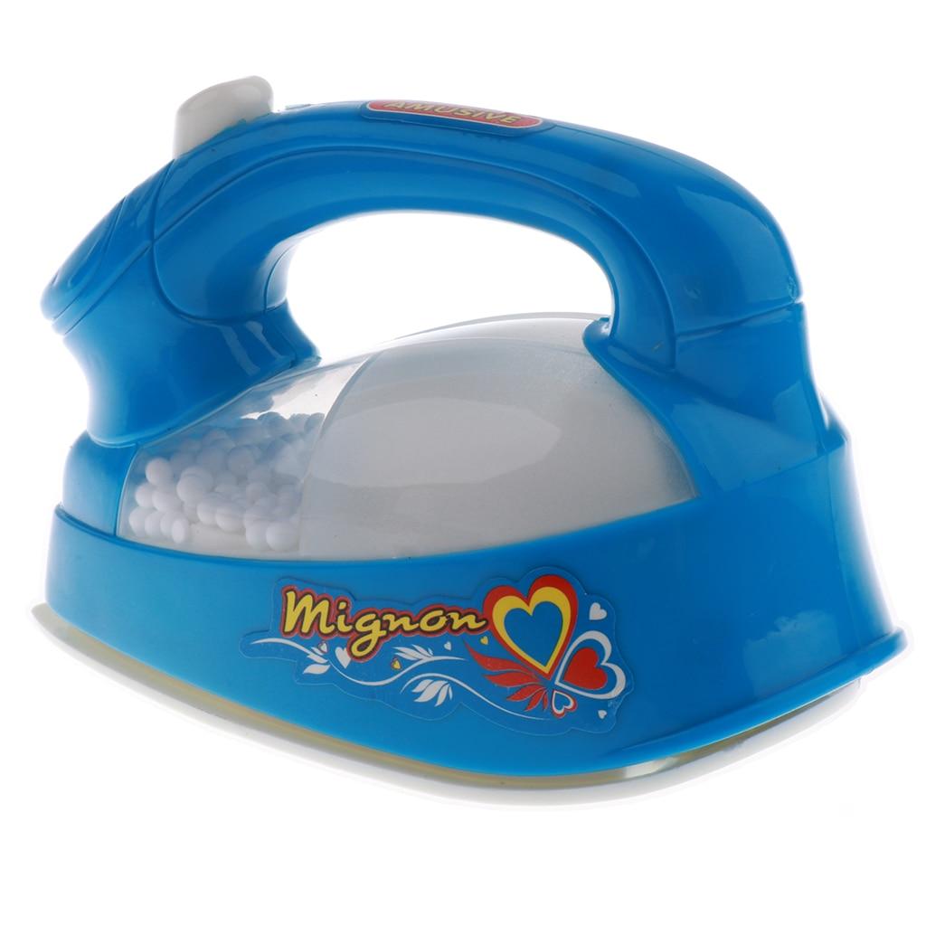 Фото - Mini Blue Iron Pretend Play Home Appliance Toy For Boys & Girls fun boys girls mini telephone developmental toy role play pretend toy communication equipment