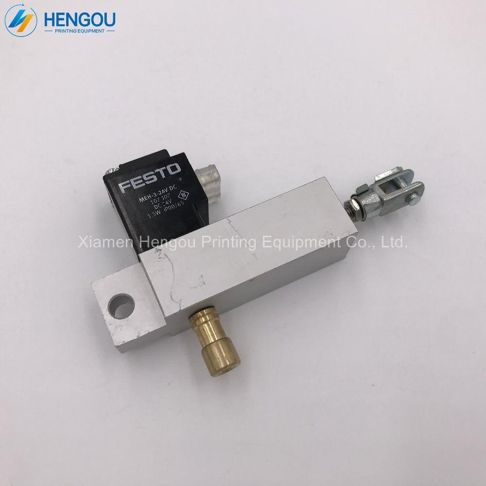 1 unidad de válvula solenoide 61.184.1131 para Heidelberg PM74 SM74 SM102 prensa de impresión